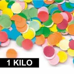 1 kilo confetti multicolor