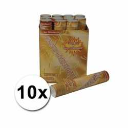 10 confetti shooters 30 goud