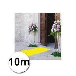 10 meter gele loper 1 meter breed