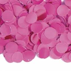 100 gram confetti kleur fuchsia roze