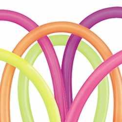 100 neon modelleerballonnen