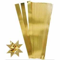 100 Papieren stroken goud 45