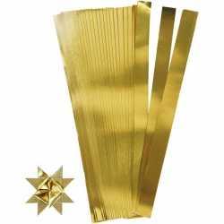 100 Papieren stroken goud 73