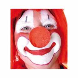 100x stuks rode clowns neus/neuzen foam