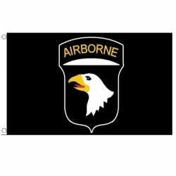 101st Airborne Division vlag 150 bij 90