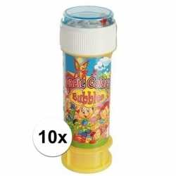 10x bellenblaas spelletje 60 ml