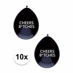 10x cheers bitches ballonnen