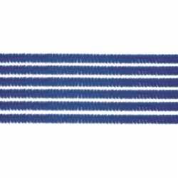 10x chenilledraad blauw 50