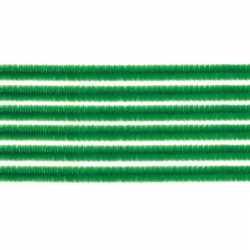 10x chenilledraad groen 50