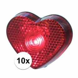 10x led hartjes lampjes op clip 5