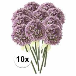 10x lila sierui kunstbloemen 70