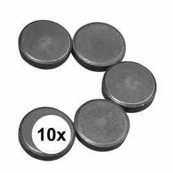 10x ronde magneten 20 bij 5 mm