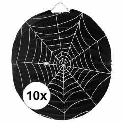 10x spinnenweb lampionnnen 22