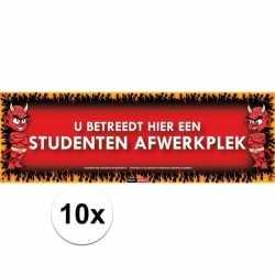 10x sticky devil dit is een studenten afwerkplek