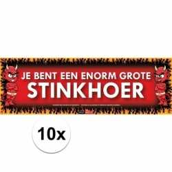 10x sticky devil je bent een enorm grote stinkhoer