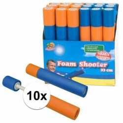 10x stuks waterpistolen van foam 33
