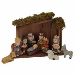 11 delige kerststal