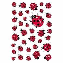 111x lieveheersbeestje dieren stickers