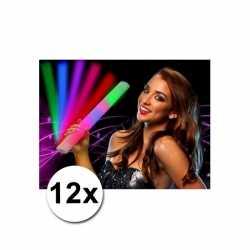 12 lichtgevende party staven