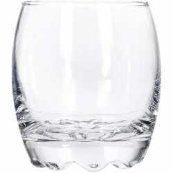 12x drank of water glazen van 275 ml
