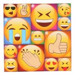 13x emoji smiley memo magneten type 1