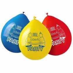 16x buurman & buurman feest thema ballonnen