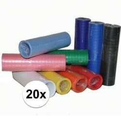 20x serpentine voordeel pakket diverse kleuren