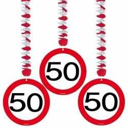 9 bij rotorspiralen 50 jaar verkeersborden