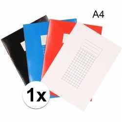 A4 ruitjes schrift 10 mm 1x