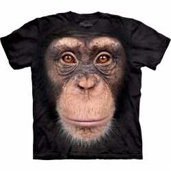Aap t shirt chimpansee kinderen