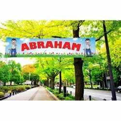 Abraham PVC spandoek 200 bij 50