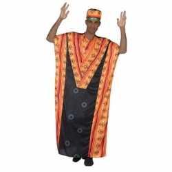 Afrikaanse kaftan verkleed kostuum heren