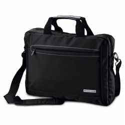 Aktetas/laptoptas 15,6 inch zwart 10 liter