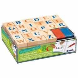 Alfabet stempel hobby/knutselset kinderen