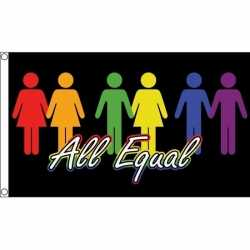 All equal vlag 150 bij 90