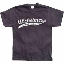 Alzheimer t-shirt