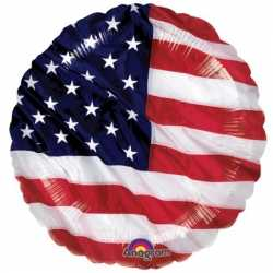 Amerikaanse vlag folie ballon