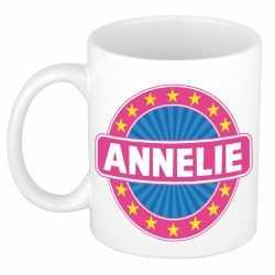 Annelie naam koffie mok / beker 300 ml