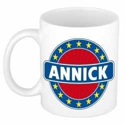 Annick naam koffie mok / beker 300 ml