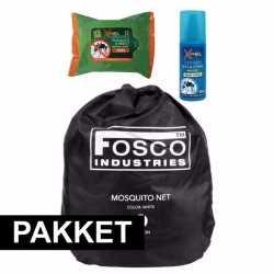 Anti muggen backpack pakket