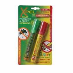 Anti muggen/insecten spray pen 2 pack