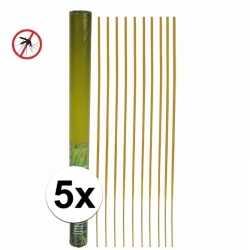 Anti muggen wierookstokjes 50 50 stuks