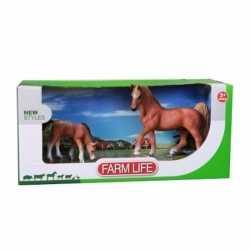 Arabier paard veulen plastic