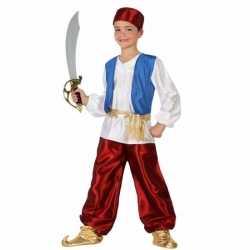 Arabische strijder badir kostuum jongens