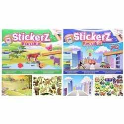 Autoraam stickerboekjes jongens