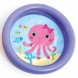Baby/kinder opblaas zwembad paars 61