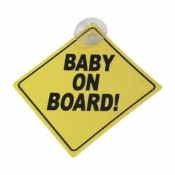 Baby on board veiligheidsbord zuignap 12