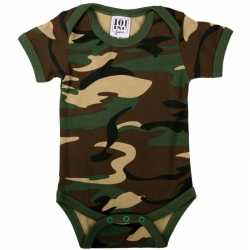 Baby rompertje camouflage
