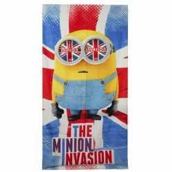 Badlaken The Minion Invasion 70 bij 140