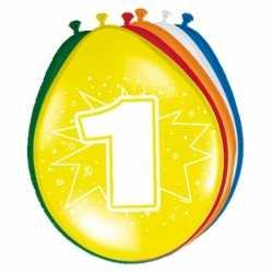 Ballonnen 1 jaar van 30 16x stuks